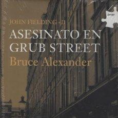 Libros: JOHN FIELDING(II).ASESINATO EN GRUB STREET. EDHASA. 2006.. Lote 214445957