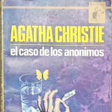 Libros: AGATHA CHRISTIE NOVELAS ANTIGUAS DE BOLSILLO. Lote 216826193