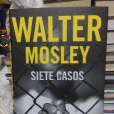 Libros: WALTER MOSLEY.SIETE CASOS.RBA. Lote 218152198