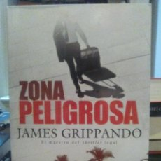 Libros: JAMES GRIPPANDO. ZONA PELIGROSA .HARPER COLLINS. Lote 218160376