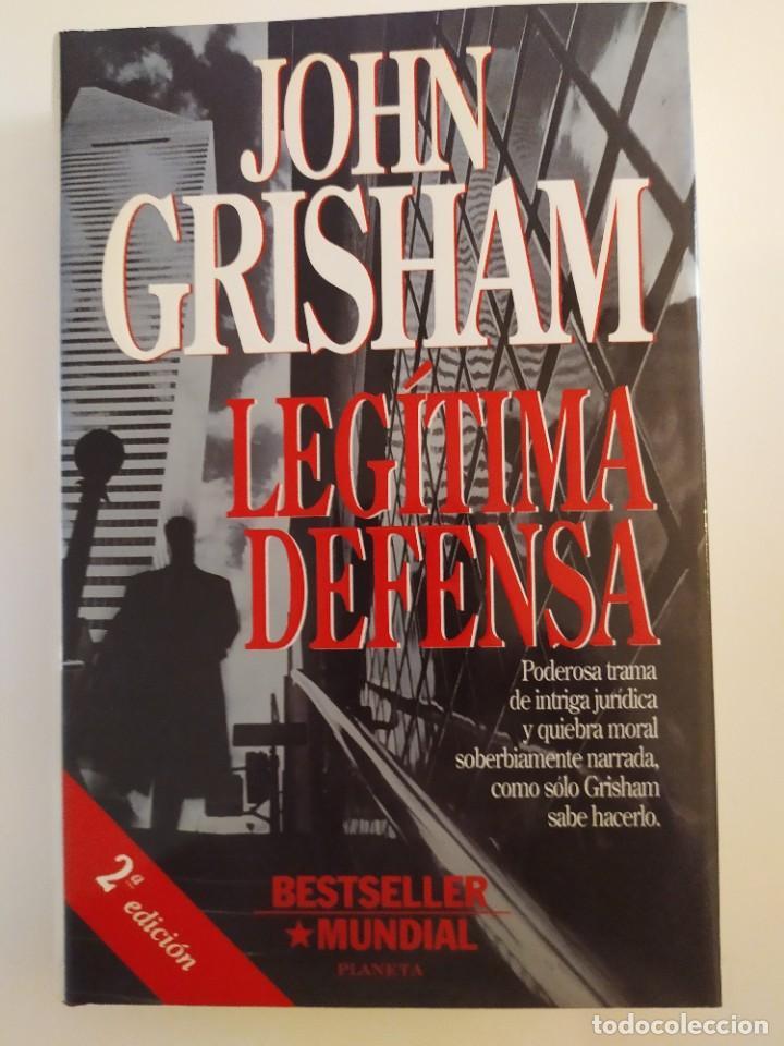 LEGÍTIMA DEFENSA JOHN GRISHAM (Libros Nuevos - Literatura - Narrativa - Novela Negra y Policíaca)