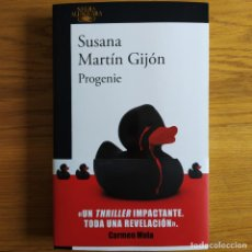 Livros: PROGENIE, SUSANA MARTÍN GIJÓN, ED. ALFAGUARA, LIBRO NUEVO. Lote 219690980