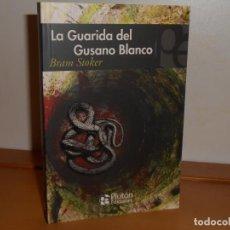Libros: BRAM STOKER, LA GUARIDA DEL GUSANO BLANCO - PLUTÓN EDICIONES. Lote 219742672