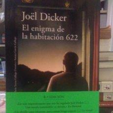 Libros: JOEL DICKER. EL ENIGMA DE LA HABITACIÓN 622 . ALFAGUARA. Lote 220892210