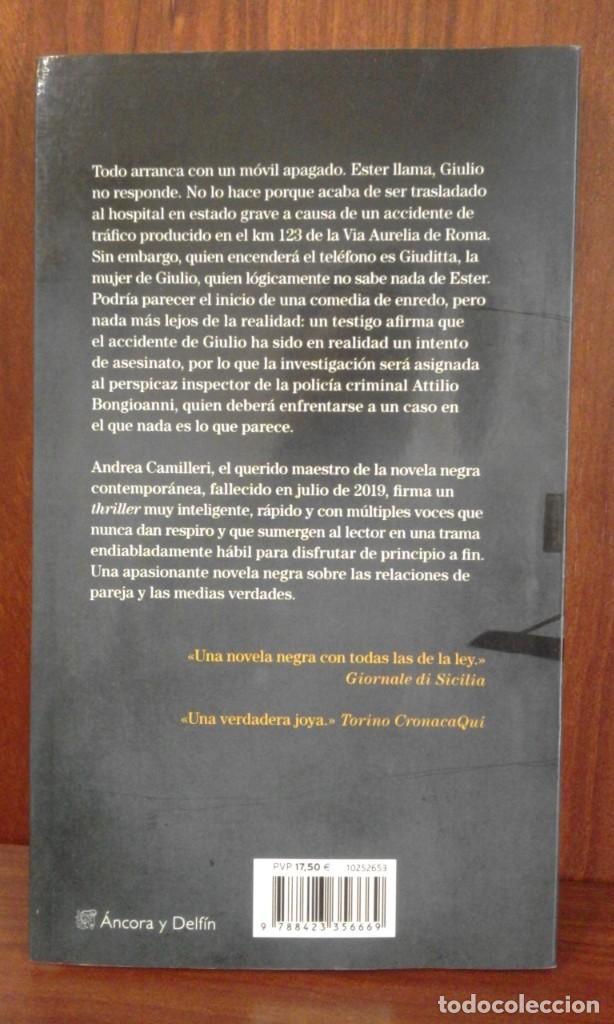 Libros: ANDREA CAMILLERI - KM 123 - Destino 2020 (1ª Edición) NUEVO - Foto 6 - 220930986