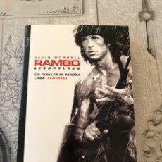 Libros: RAMBO- DAVID MORRELL (EJEMPLAR NUEVO). Lote 222167653