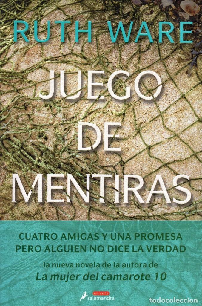 JUEGO DE MENTIRAS DE RUTH WARE - SALAMANDRA, 2018 (NUEVO) (Libros Nuevos - Literatura - Narrativa - Novela Negra y Policíaca)