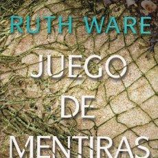 Libros: JUEGO DE MENTIRAS DE RUTH WARE - SALAMANDRA, 2018 (NUEVO). Lote 222425216