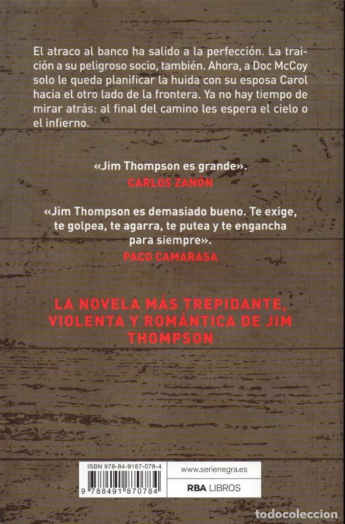 Libros: LA HUIDA de JIM THOMPSON - RBA, 2018 - Foto 2 - 222455598