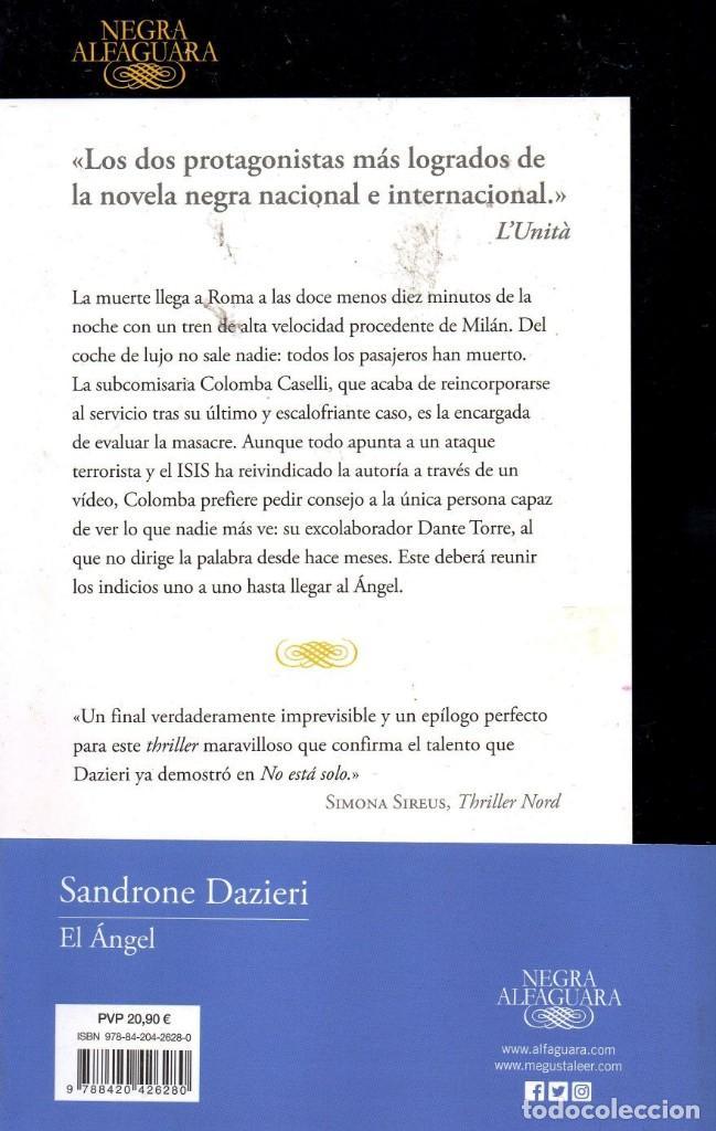 Libros: EL ANGEL de SANDRONE DAZIERI - ALFAGUARA, 2017 (NUEVO) - Foto 2 - 222467751
