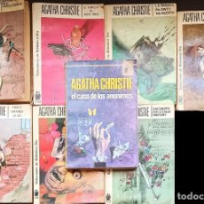 Libros: AGATHA CHRISTIE LOTE DE NOVELAS ANTIGUAS DE BOLSILLO - VARIOS TITULOS 6€ UNIDAD. Lote 216826193
