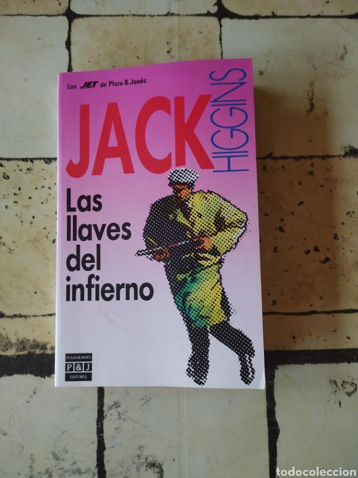 """""""LAS LLAVES DEL INFIERNO"""" JACK HIGGINS (Libros Nuevos - Literatura - Narrativa - Novela Negra y Policíaca)"""