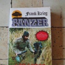 """Libros: """"LOS LOBOS DE LA ESTEPA"""" FRANK KRIEG 1979. Lote 224876346"""
