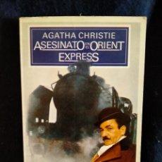Libros: ASESINATO EN EL ORIENT EXPRESS AGATHA CHRISTIE.LB3. Lote 225236550