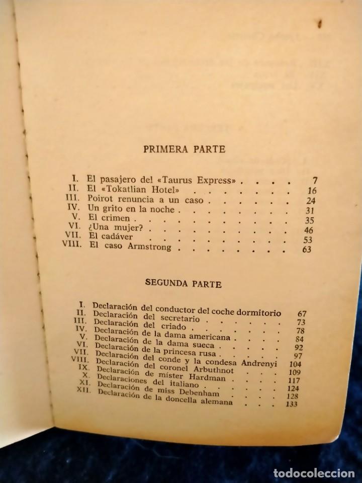 Libros: Asesinato en el Orient Express Agatha Christie.Lb3 - Foto 3 - 225236550
