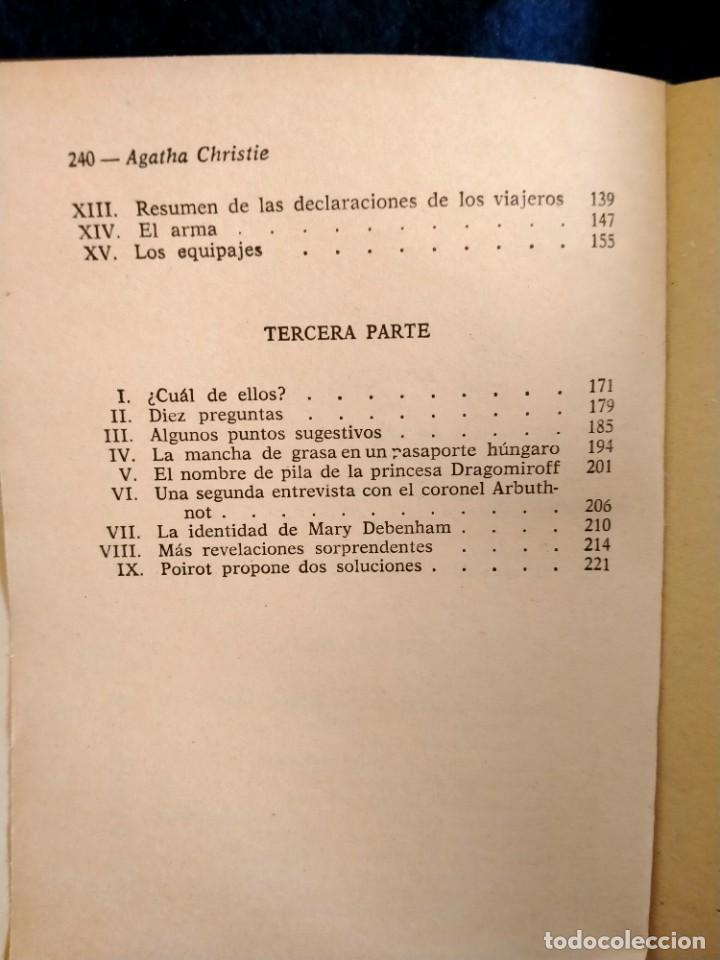 Libros: Asesinato en el Orient Express Agatha Christie.Lb3 - Foto 4 - 225236550