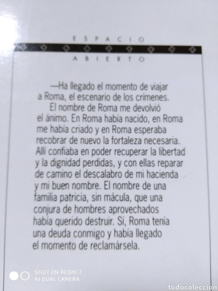 Libros: Continúan los crímenes en Roma. Emilio Calderón. Nuevo - Foto 3 - 226410295