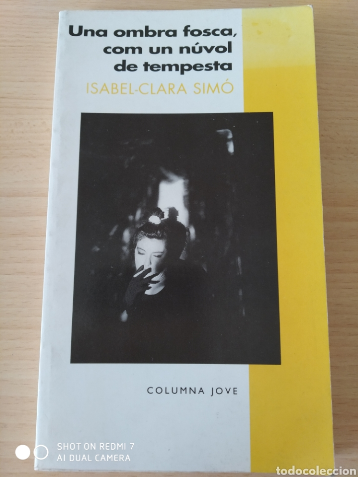 UNA OMBRA FOSCA, COM UN NUVOL DE TEMPESTA. CATALÁN. NUEVO (Libros Nuevos - Literatura - Narrativa - Novela Negra y Policíaca)