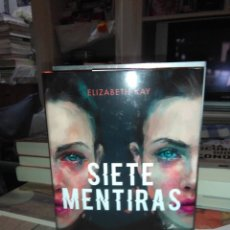 Libros: ELIZABETH KAY. SIETE MENTIRAS .PLANETA INTERNACIONAL. Lote 228662565