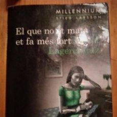 """Libros: MILLENIUM 4 """"EL QUE NO MATA ET MÉS FORT"""" DAVID LAGERCRANTZ (STIEG LARSSON). Lote 235173880"""