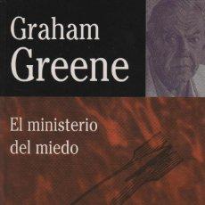 Libros: EL MINISTERIO DEL MIEDO. GRAHAM GREENE. EDHASA. 1ªEDICIÓN. 1998. NUEVO.. Lote 235314575