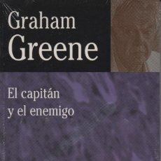 Libros: EL CAPITÁN Y EL ENEMIGO. GRAHAM GREENE. EDHASA. 1997. RETRACTILADO.. Lote 235324900