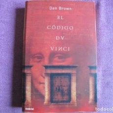 Libros: DAN BROWN - EL CODIGO DA VINCI (EDICIONES URANO 2004). Lote 237064425