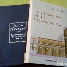 Libros: LIBRO LA HERMANDAD DE LA SABANA SANTA CON ESTUCHE DE LUJO. Lote 243769555