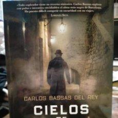 Libros: CARLOS BASSAS DEL REY. CIELOS DE PLOMO. HARPER COLLINS. Lote 243928050