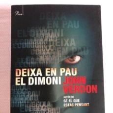 Libros: DEIXA EN PAU AL DIMONI. Lote 244707270