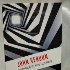 Livres: JOHN VERDON. CONTROLARÉ TUS SUEÑOS.(UN CASO DEL DETECTIVE DAVE GURNEY).DEBOLSILLO. Lote 244923535