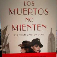 Libros: STEPHEN SPOTSWOOD LOS MUERTOS NO MIENTEN(UN CASO DE LAS DETECTIVES LILIAN PENTECOST Y WILL PARKER).B. Lote 245742145