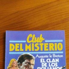 Libros: EL CLAN DE LOS SICILIANOS. Lote 246079040