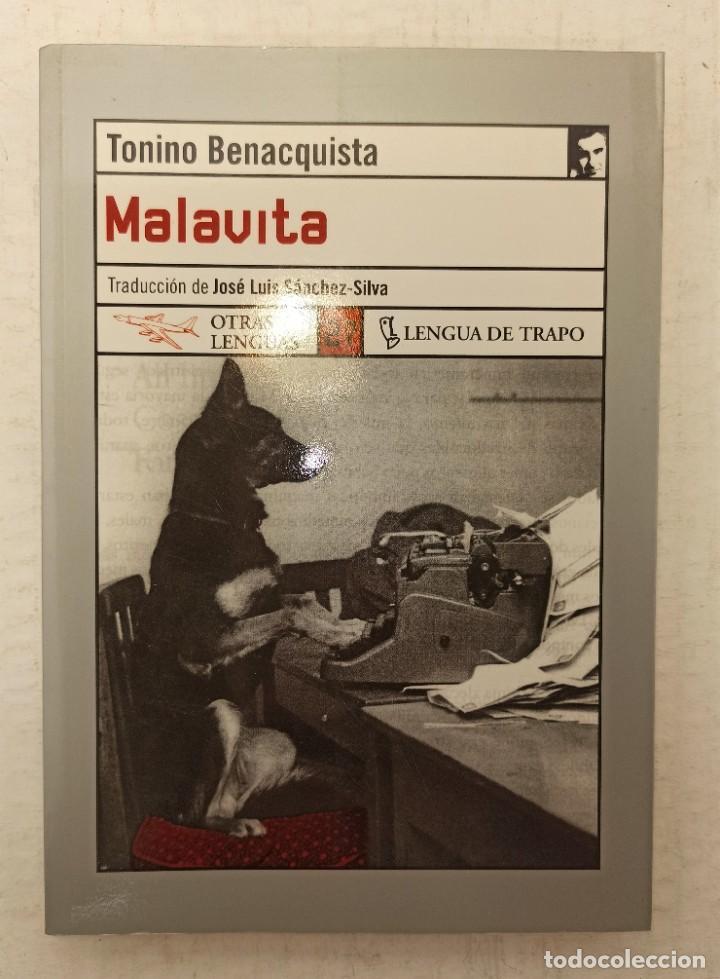 """""""MALAVITA"""" DE TONINO BENACQUISTA (2005) EDIT. LENGUA DE TRAPO (Libros Nuevos - Literatura - Narrativa - Novela Negra y Policíaca)"""