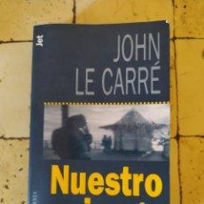 """Libros: """"NUESTRO JUEGO"""" JOHN LE CARRÉ. Lote 248673200"""