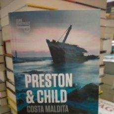 Livros: PRESTON & CHILD. COSTA MALDITA.( UN CASO DEL INSPECTOR PENDERGAST 15). DE BOLSILLO. Lote 249071225