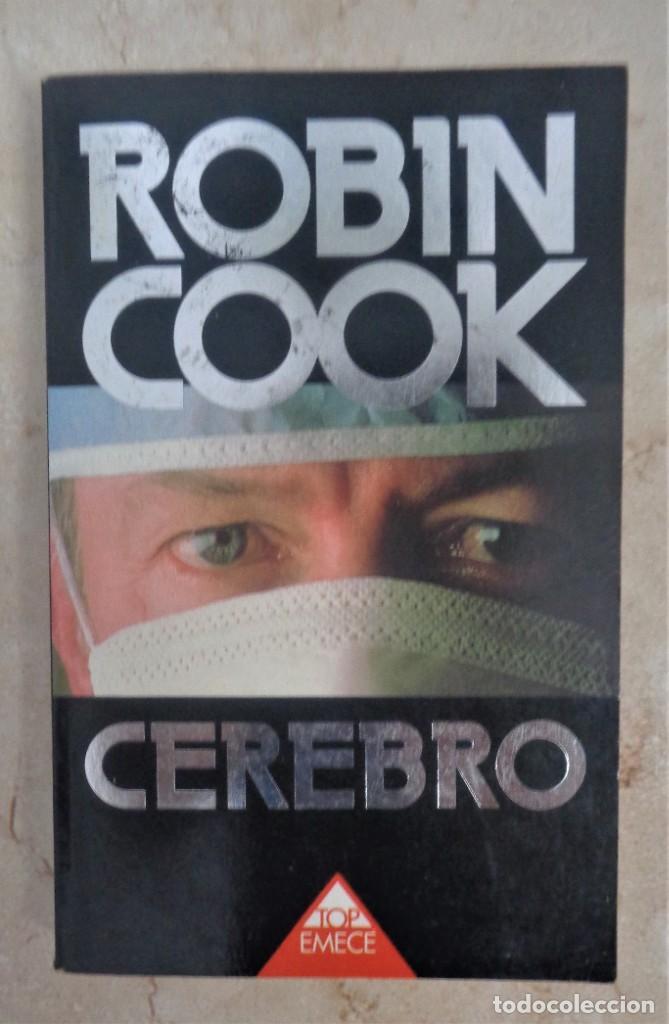 ROBIN COOK CEREBRO (Libros Nuevos - Literatura - Narrativa - Novela Negra y Policíaca)