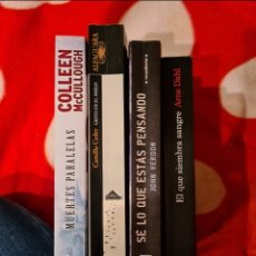 Libros: LOTE NOVELA NEGRA. Lote 253114660
