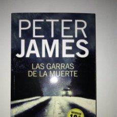 Libros: LAS GARRAS DE LA MUERTE PETER JAMES. Lote 253710175