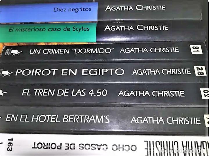 7 NOVELAS DE AGATHA CHRISTIE (Libros Nuevos - Literatura - Narrativa - Novela Negra y Policíaca)