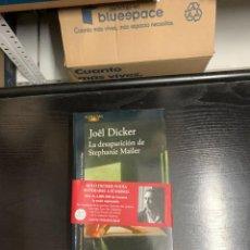 Libros: LA DESAPARICIÓN DE STEPHANIE MAILER, DE JOËL DICKER. Lote 255444060