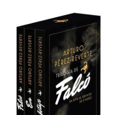 Libros: TRILOGÍA DE FALCÓ (PACK CON FALCÓ EVA SABOTAJE) PÉREZ REVERTE, ARTURO EDITORIAL DEBOLSILLO NUEVO. Lote 255471375