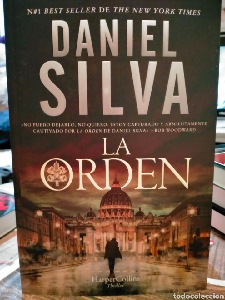 DANIEL SILVA. LA ORDEN. (UN CASO DE GABRIEL ALLON). HARPERCOLLINS (Libros Nuevos - Literatura - Narrativa - Novela Negra y Policíaca)