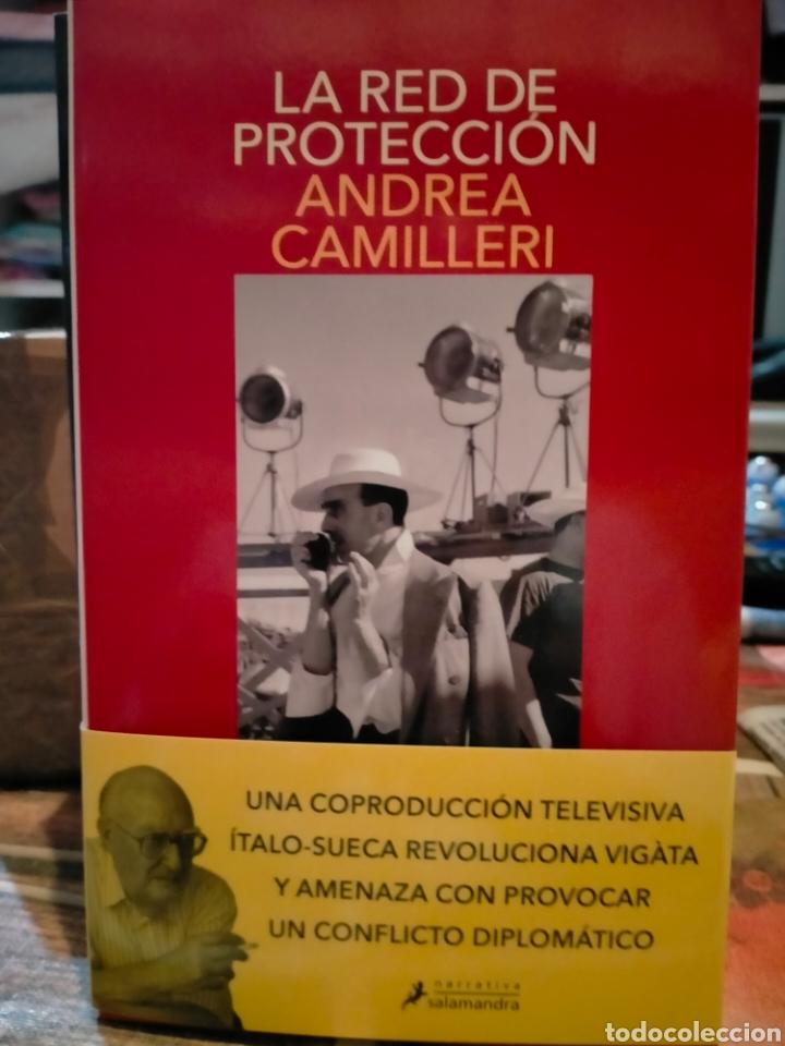 ANDREA CAMILLERI. LA RED DE PROTECCIÓN .(UN CASO DEL COMISARIO MONTALBANO. 30). SALAMANDRA (Libros Nuevos - Literatura - Narrativa - Novela Negra y Policíaca)
