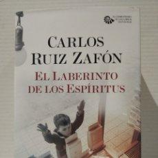 Libros: EL LABERINTO DE LOS ESPÍRITUS CARLOS RUIZ ZAFÓN. Lote 257907550