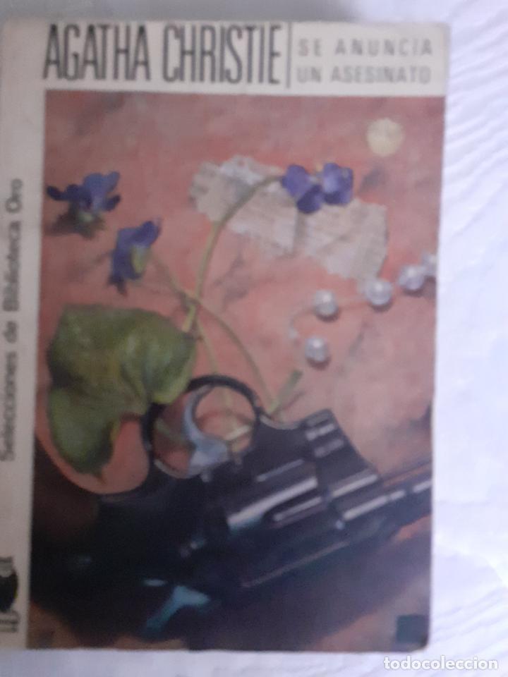 SE ANUNCIA UN ASESINATO - AGATHA CHRISTIE (Libros Nuevos - Literatura - Narrativa - Novela Negra y Policíaca)