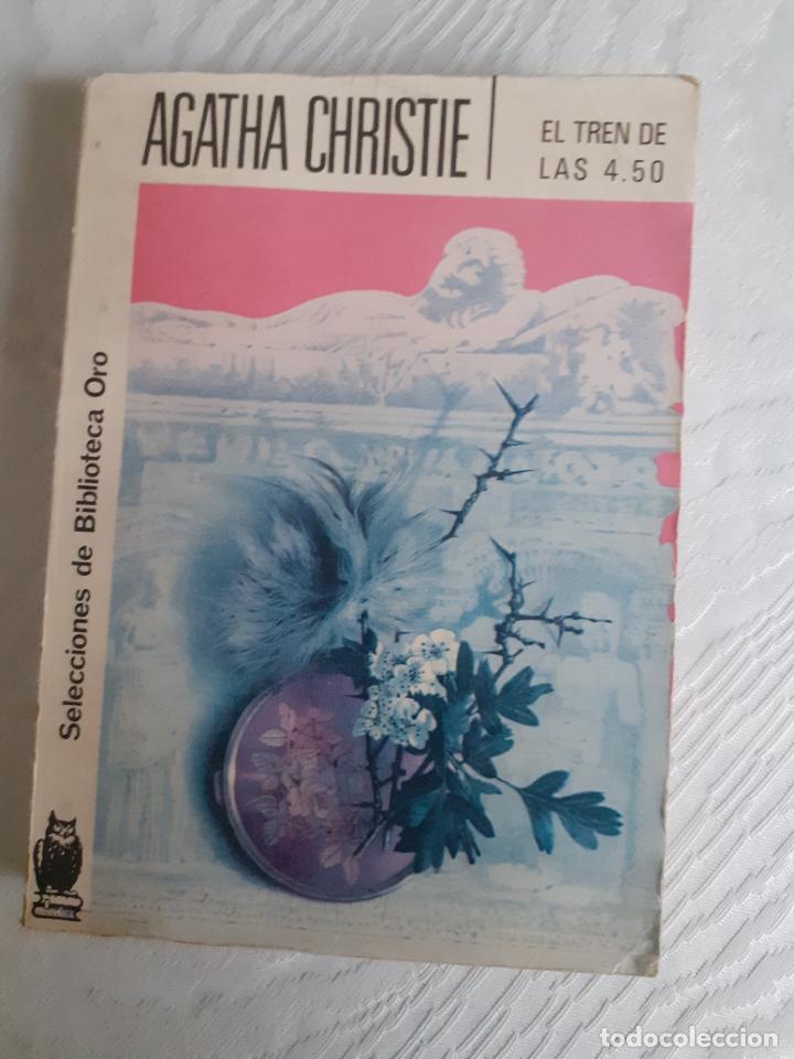 EL TREN DE LAS 4.50 - AGATHA CHRISTIE (Libros Nuevos - Literatura - Narrativa - Novela Negra y Policíaca)