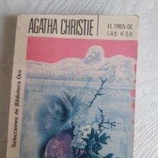 Libros: EL TREN DE LAS 4.50 - AGATHA CHRISTIE. Lote 258196680