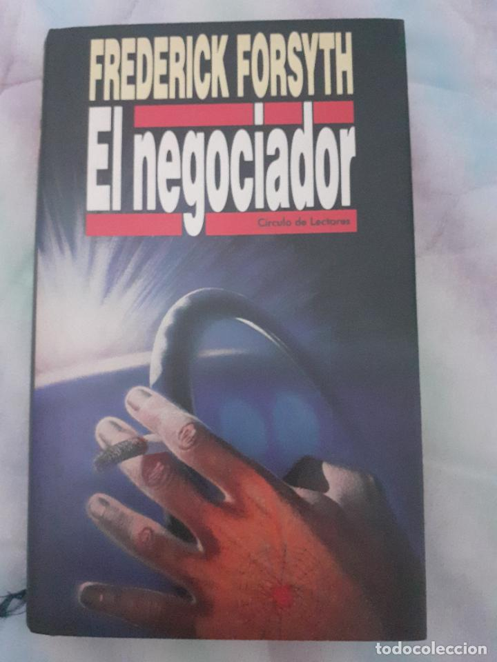 EL NEGOCIADOR - FREDERICK FORSYTH (Libros Nuevos - Literatura - Narrativa - Novela Negra y Policíaca)