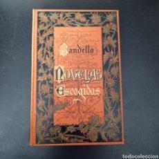 Libros: BANDELLO. , NOVELAS ESCOGIDAS , TAPA DURA , VER FOTOS. Lote 260746280